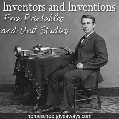 Studying Inventors and inventions makes for a great history lesson and a lesson on appreciating what we have!  Homeschool Giveaways ha
