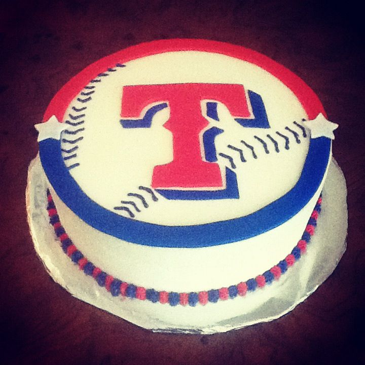 Texas Rangers Cake Decorations