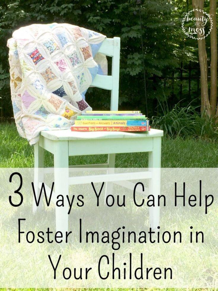 3 Ways You Can Help Foster Imagination in Your Children #HorizonSnacks #CuriousKids #sponsored