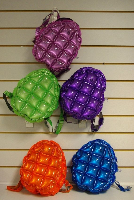 90s plastic BLOW UP BUBBLE backpack by CATCHINGHALOES on Etsy, kr125.00
