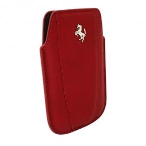 TOC FERRARI MODENA FEMOIPRE LEATHER RED PT. IPHONE 3G/4