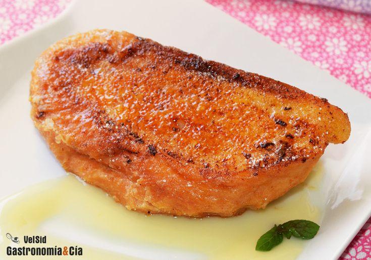 torrijas caramelizadas Recetas de Cocina - Página 6