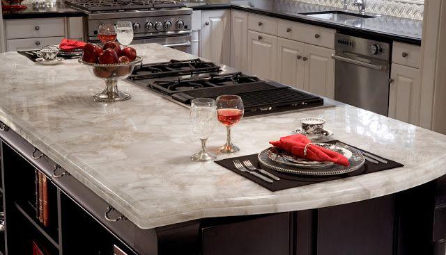 The company, Cambria, sells radon free quartz countertops.