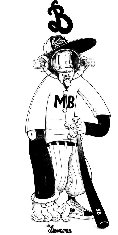 Mcbess - The Drummer