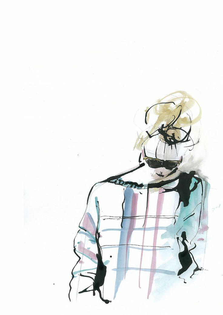 Dijana Vranjes, fashion ilustration 2014