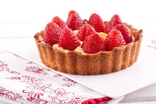 recette classique la tarte aux fraises tart 39 s. Black Bedroom Furniture Sets. Home Design Ideas