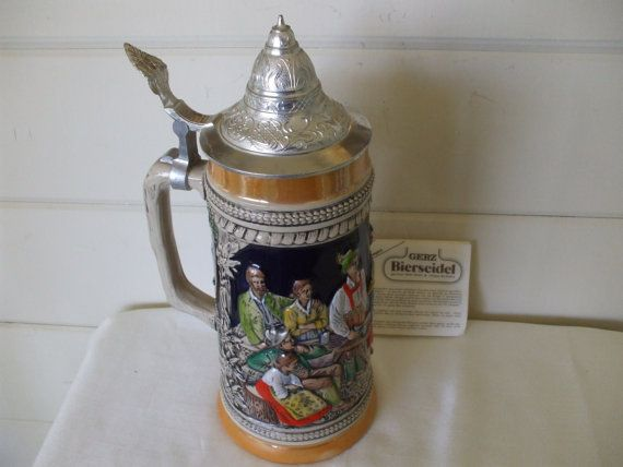 1000 Images About Beer Steins On Pinterest Pewter