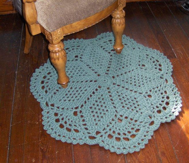 Floor Doily Rug