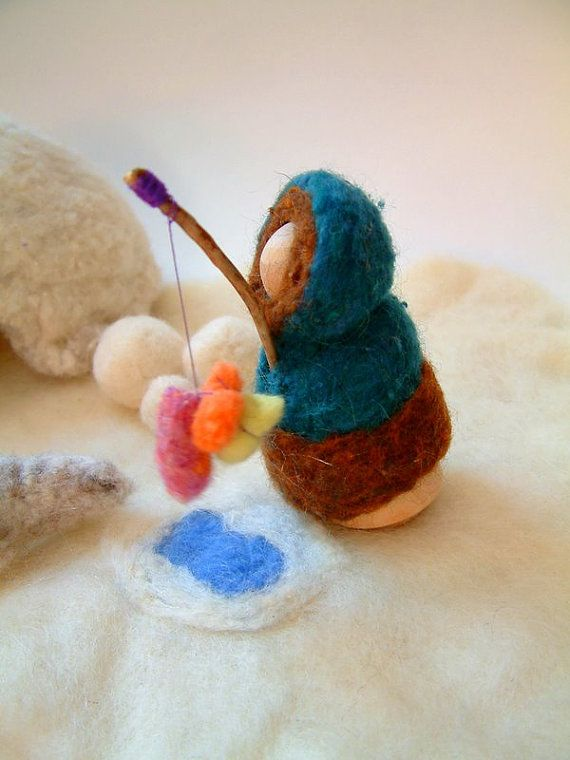 Eskimo playset with igloo