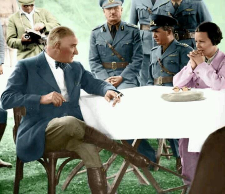 Mustafa Kemal ATATURK..The famous and brave  leader of Turkey