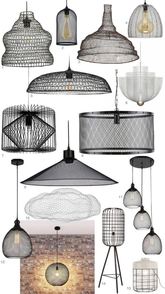 Deco Motif Grille Le Quadrillage Minimaliste Furniture Lighting