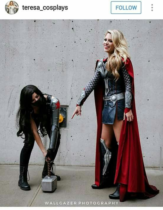 amazing cosplay (love the details on thor's)