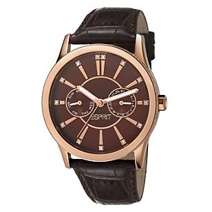 Esprit Reloj Dama Single Infusion Brown