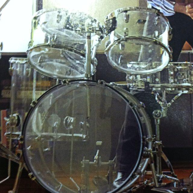 Translucent Drum Set