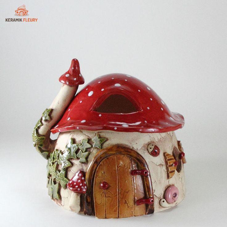 Windlight mushroom house