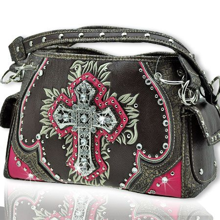 www.thewesternboutique.com, The Western Boutique carries a beautiful collection of Texas style Montana West Cowgirl Bling Western Handbags are made from genuine leather, cowhide and other materials. Featuring Rhinestones, Buckles, Crosses and Pistols with Jeweled accents. Also see our matching western Wallets, Rhinestone T-Shirts, Flip Flops, Jewelry, Rhinestone Bling Belts.
