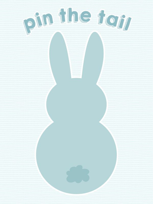 If an Easter egg hunt isn't enough for your young Easter brunch guests, we're sharing this adorable Pin the Tail on the Easter Bunny printable and a printable sheet of tails! It's a great activity for kids of all ages. The older ones love it because they actually know how to play. i.e. blind fold,...read more