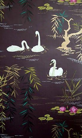 Tapetgalleriet   Tapet og tapeter - Nina Campbell kolleksjon Sylvana