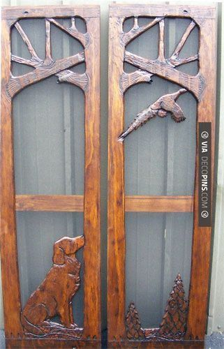 Wow - Screen Door | CHECK OUT MORE PORCH AND SCREEN DOOR IDEAS AT DECOPINS.COM…