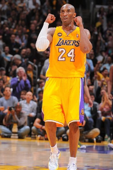 Kobe celebrates (April 5, 2013 | Memphis Grizzlies @ Los Angeles Lakers | Staples Center in Los Angeles, California)