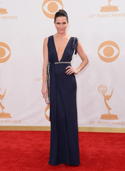 Katie Aselton at the 2013 Emmys