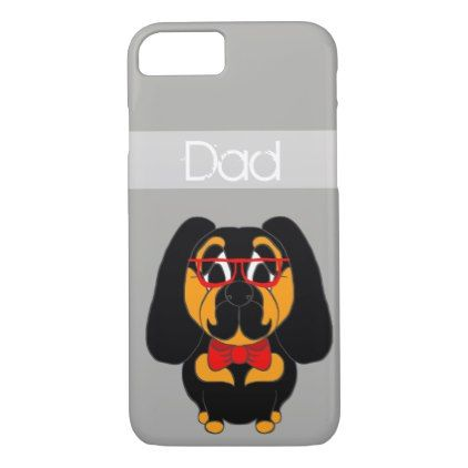 Dad Father's Day Dog Personalized Phone Case - fathers day best dad diy gift idea cyo personalize father family