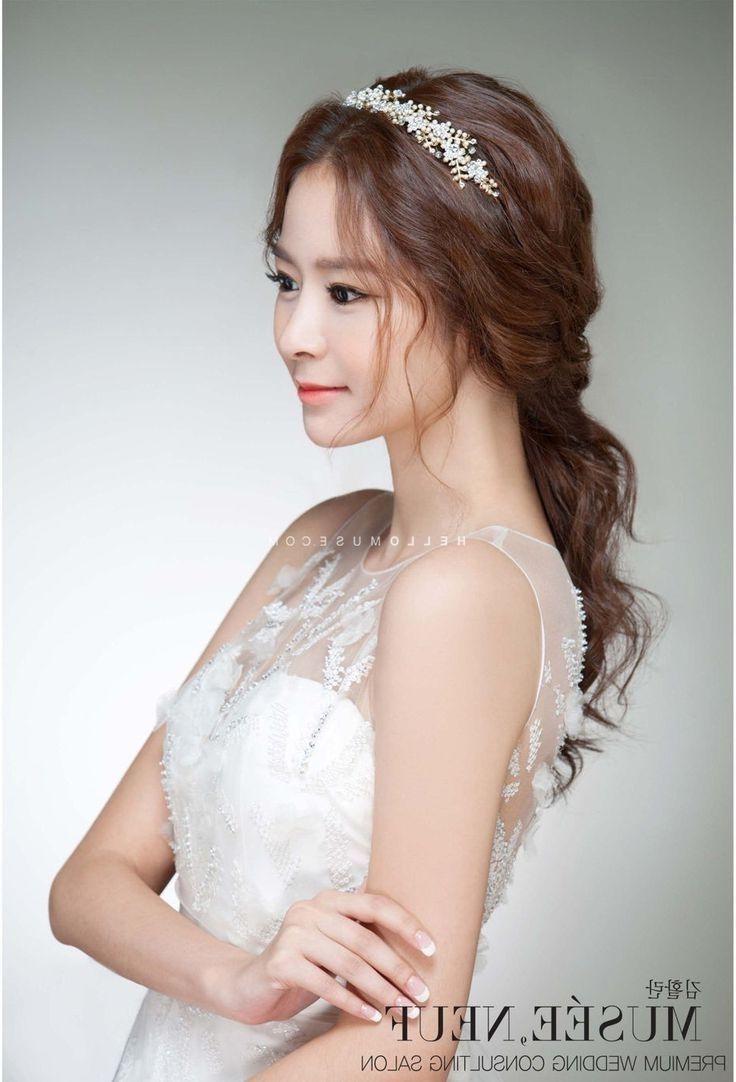 Korean Hairstyle For Party Lovely Korean Hairstyle For Wedding Party Cute Wedding Hairstyles Trendy Wedding Hairstyles Korean Hairstyle
