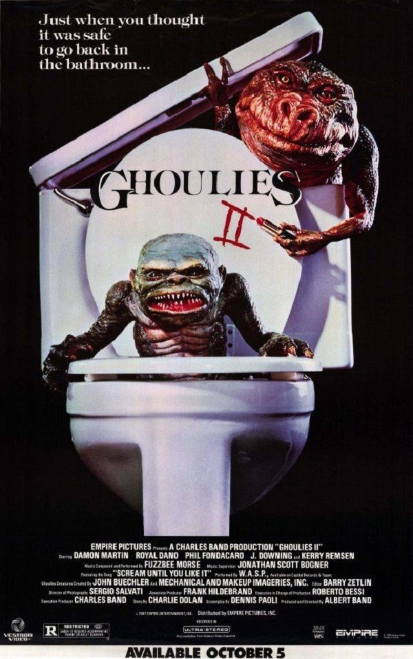 Our Favorite Horror Movie Taglines Ghoulies Movie Taglines Movie Posters