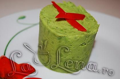 Piure de mazare verde