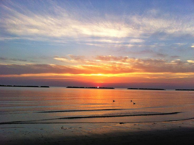 SunRise   ...Cesenatico Beach   ...Italian East Coast