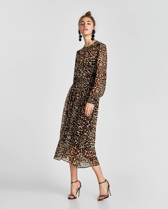ZARA - WOMAN - ANIMAL PRINT DRESS