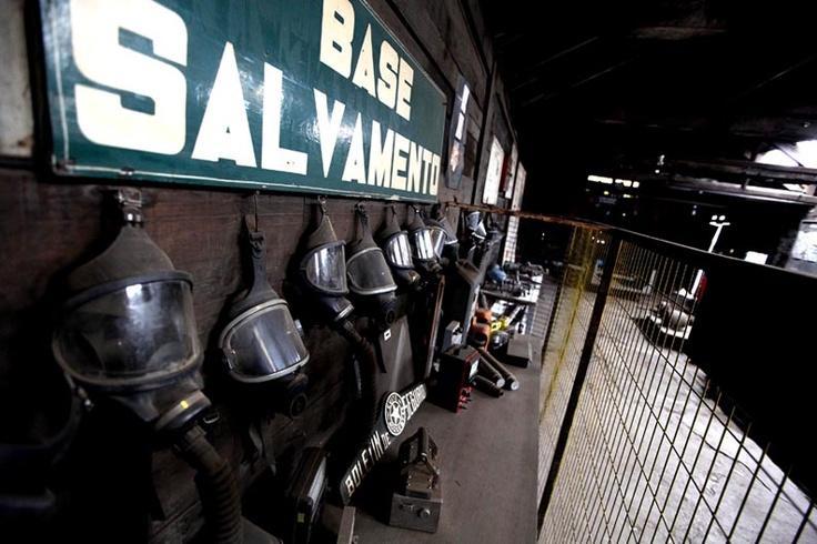 Tour por la antigua mina de carbón ubicada en Lota, Chile. Foto : Alfonso Díaz