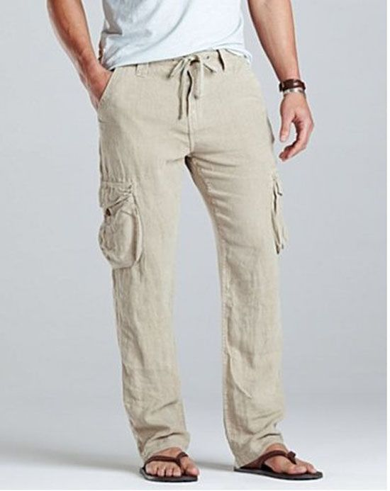 Top 10 Men's Linen Pants ~ World Gossip Online Linen Trouser 2014 Men | Style Inspirations