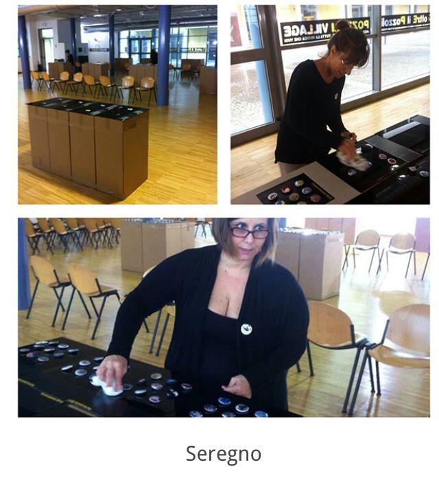 Quinta tappa, Seregno, museo Vignoli, dall'11 al 26 ottobre 2014.