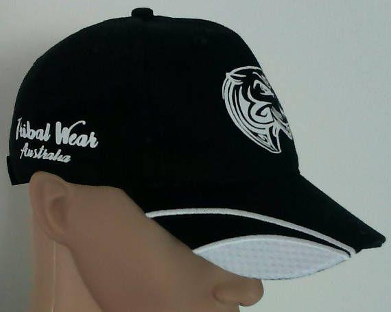 Unisex Adults Graphic Tribal Sports Cap Hat (A) - Tribal - Tribal style - Tribal wear - Tattoo graphic - Tribal graphic - Vinyl