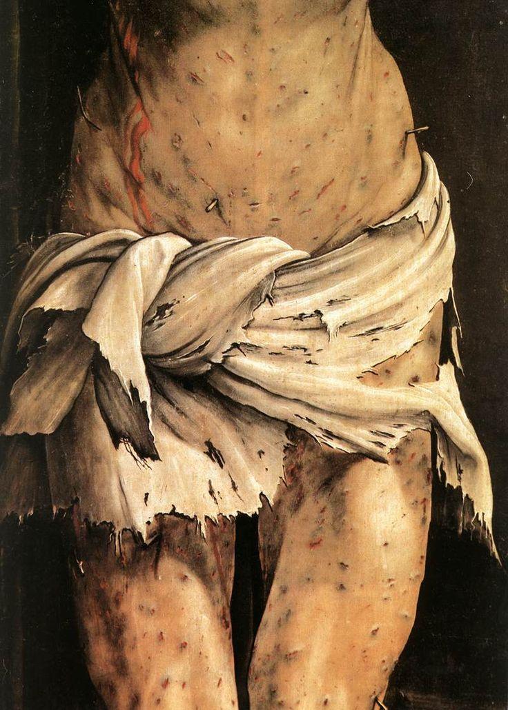The Crucifixion 3 (detail) - Matthias Grünewald | Holy ...