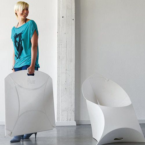 Chaise pliante design my flux