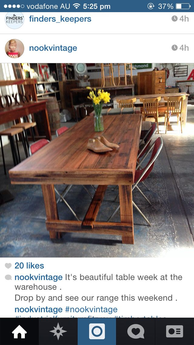 Table from Nook Vintage