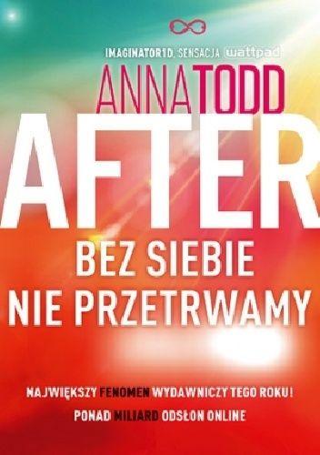 Okładka książki After. Bez siebie nie przetrwamy