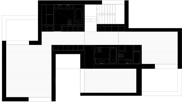 First Floor Plan Of House Mr By 236 Arquitectos 공간미학