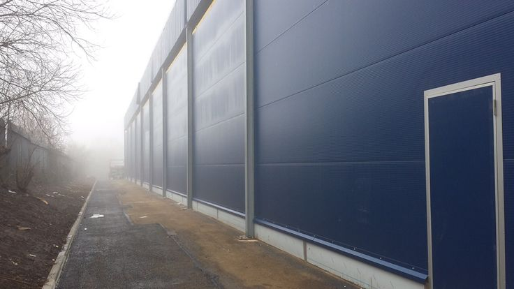 HPT #External Sargasso Blue. IBL Cold Stores, Liverpool