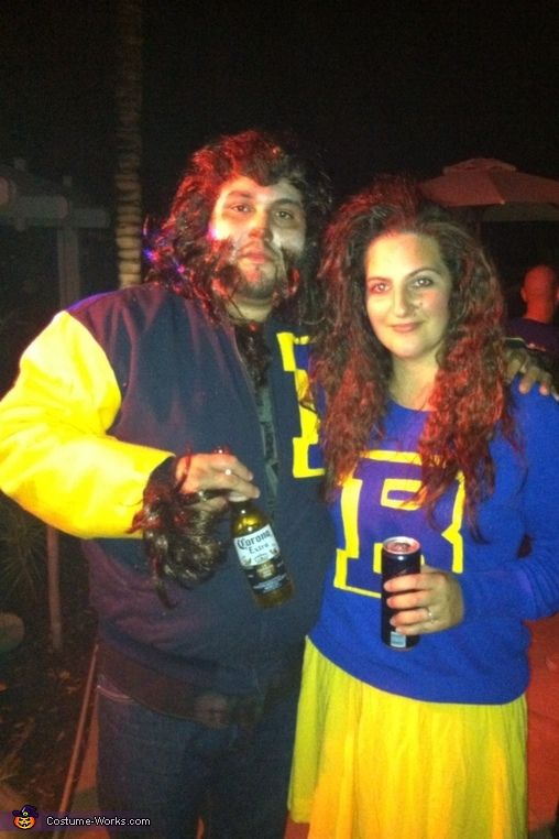80s teen wolf and cheerleader costume - 80s Movies Halloween Costumes Ideas