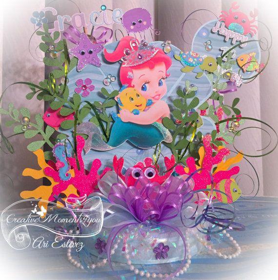 206 best images about ariel the little mermaid party for Ariel party decoration ideas