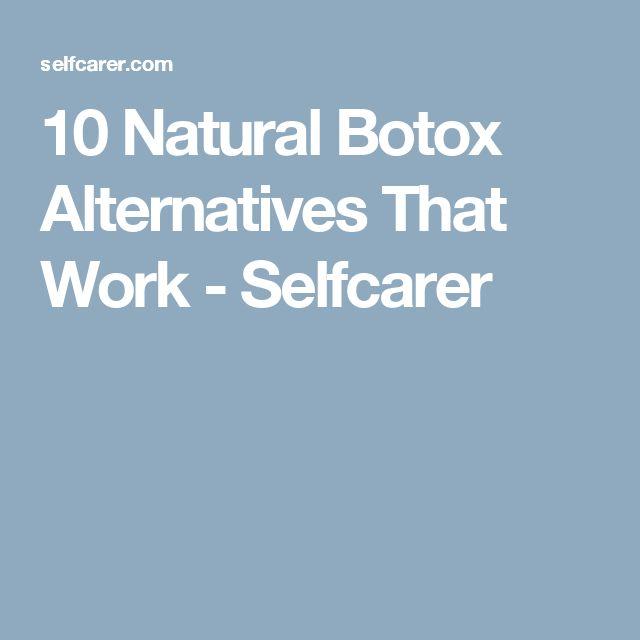 10 Natural Botox Alternatives That Work - Selfcarer