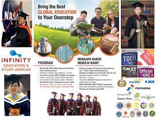 Pusat Persiapan Test TOEFL IELTS GMAT GRE • Konsultasi Studi / Beasiswa ke Luar Negeri •: INFINITY Education & Study Abroad