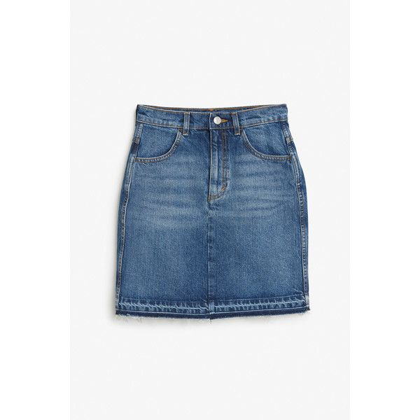 1000 ideas about knee length denim skirt on