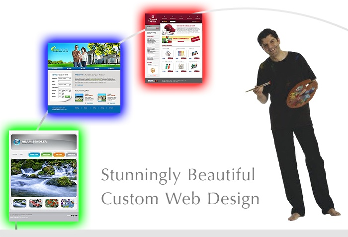 Specializing in Personal Web Design service