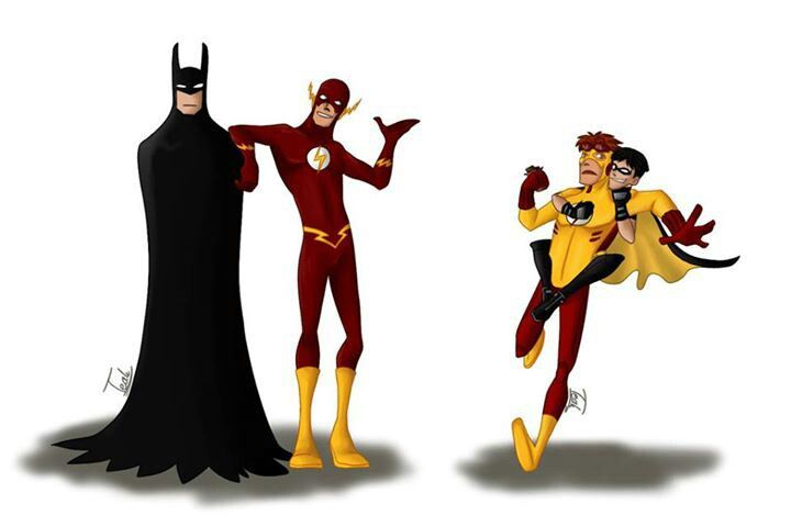 """""""See, Bruce, they're getting along just fine."""""""