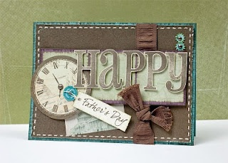 """""""Happy Father's Day"""" card idea. #CTMH #CardsScrapbook Ideas, Colors Combos, Cards Ideas, Cards Scrapbook, Cards Masculine, Birthday Cards, Masculine Cards, Ctmh Cards, Cards Crafts"""