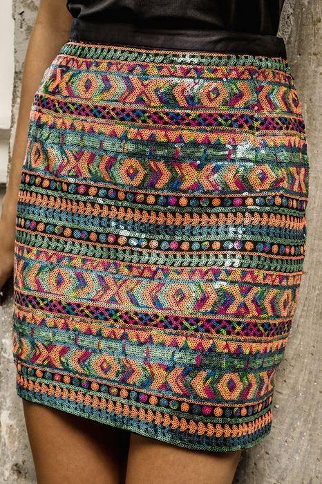 Roja Spring 2015 ' Gypsy Wagon Festival ' Skirt! http://www.cowgirlkim.com/roja-spring-2015-gypsy-wagon-festival-skirt.html
